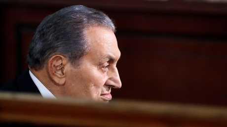 الرئيس المصري الأسبق محمد حسني مبارك