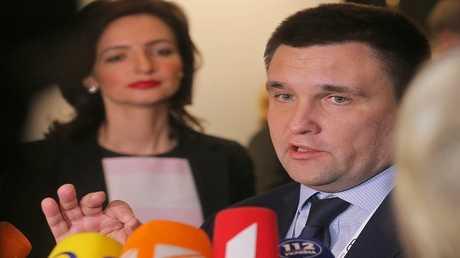 وزير الخارجية الأوكراني بافل كليمكين