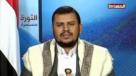 """زعيم جماعة """"أنصار الله"""" (الحوثيين) عبد الملك الحوثي"""