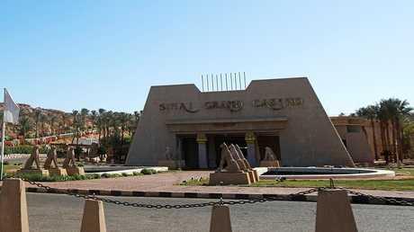 مدخل مدينة شرم الشيخ في مصر