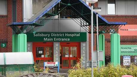 مستشفى مدينة ساليزبوري البريطانية (صورة من الأرشيف)