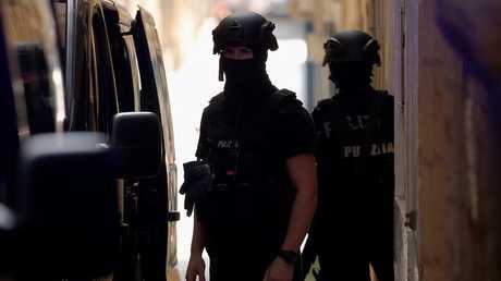 قوات الأمن في مالطا - أرشيف