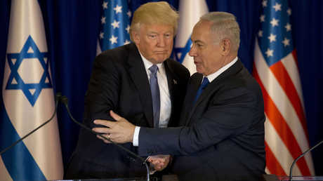 دونالد ترامب وبنيامين نتنياهو