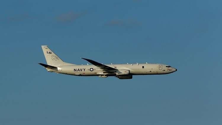 طائرة عسكرية أمريكية تحلق فوق أراضي روسيا