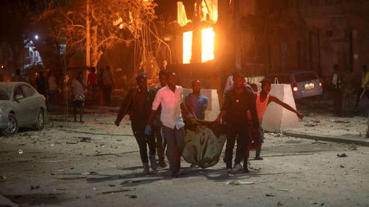 القوات الصومالية تقضي على مسلحين تحصنوا داخل مطعم في مقديشو