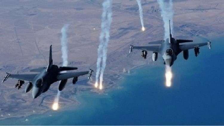 التحالف الدولي يقصف ريف الباغوز شرقي سوريا بـ