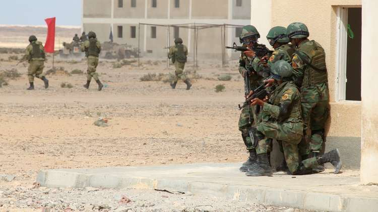 رئيس الأركان المصري يتفقد القوات في سيناء