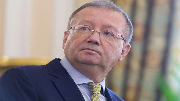 السفير الروسي لدى لندن ألكسندر ياكوفينكو