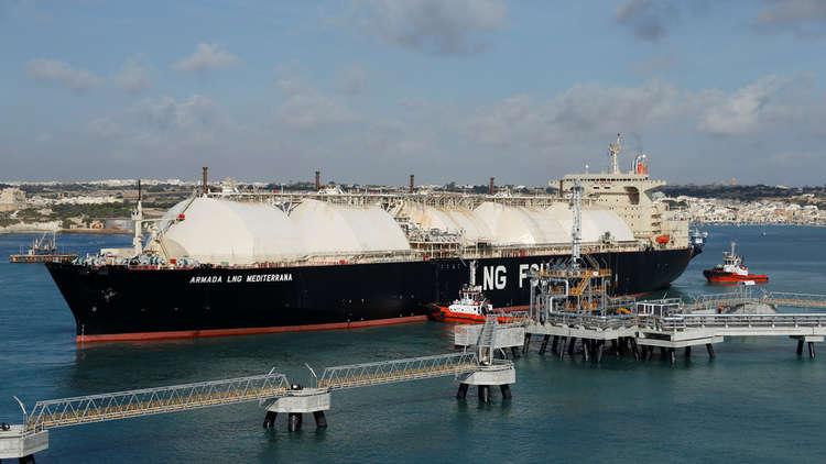روسيا تتصدر قائمة موردي الغاز المسال إلى أوروبا