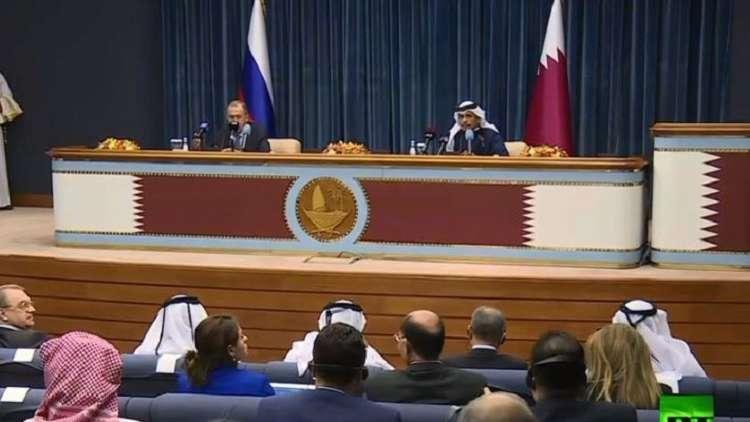 لافروف: لا داعي لتشكيل مجموعات عمل جديدة حول سوريا