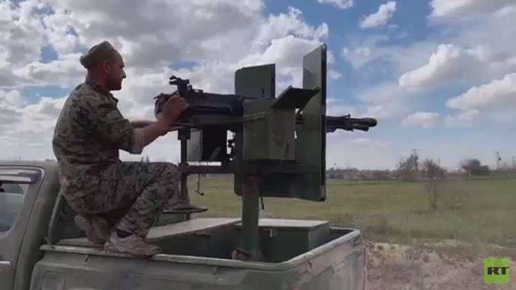 قوات سورية الديمقراطية تتقدم في الباغوز