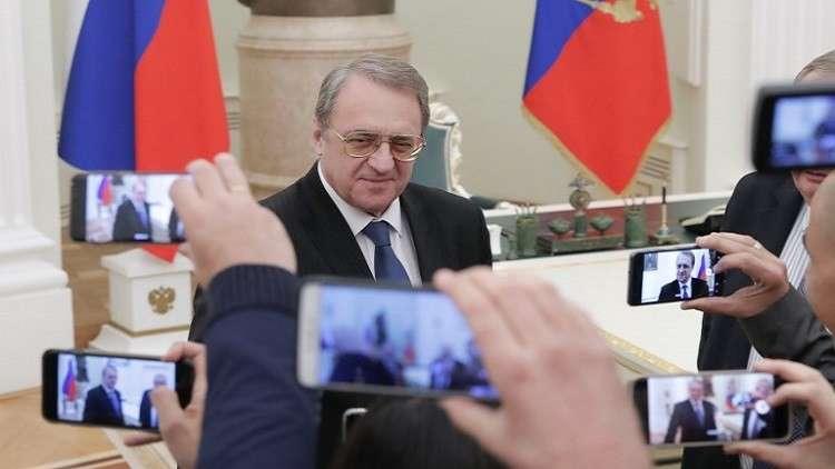 المبعوث الخاص للرئيس الروسي إلى الشرق الأوسط ودول إفريقيا، نائب وزير الخارجية ميخائيل بوغدانوف (أرشيف)