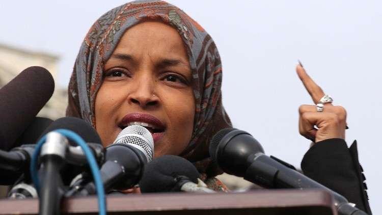عضو مجلس النواب الأمريكي إلهان عمر