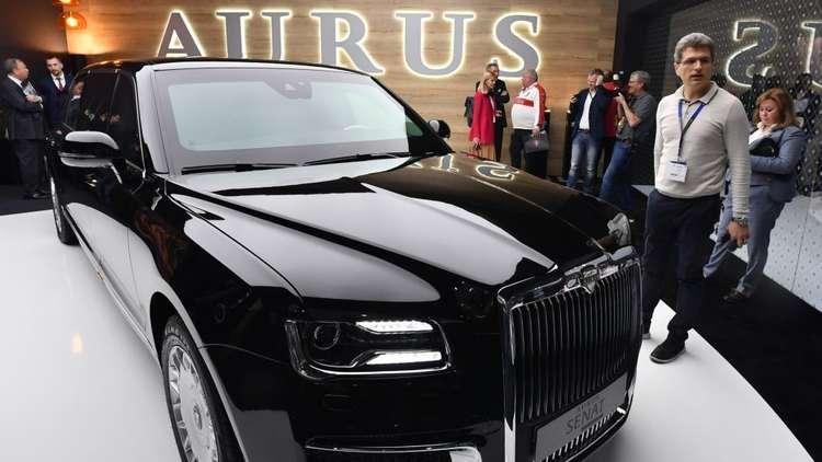 ليموزين الكرملين يعرض للمرة الأولى في معرض جنيف للسيارات