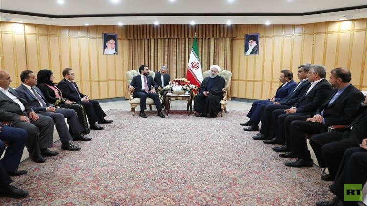 الحلبوسي يؤكد معارضة العراق لأي عقوبات أو حصار على إيران