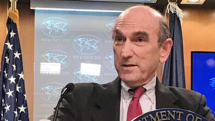 المبعوث الأمريكي: لا نبحث التدخل العسكري في فنزويلا