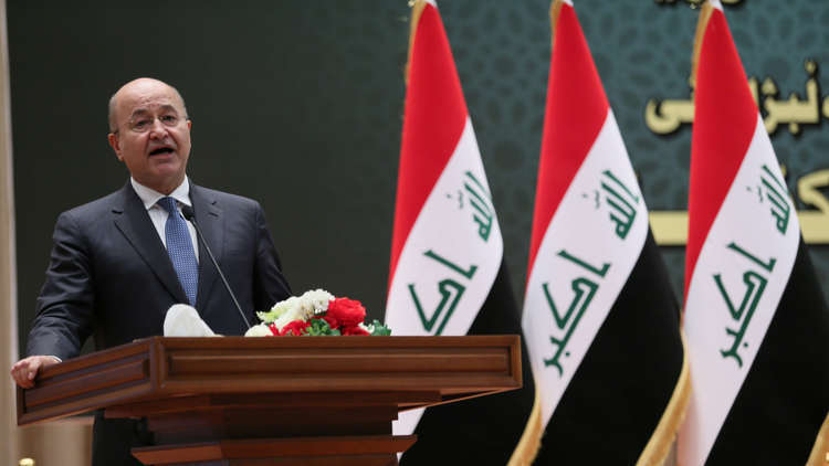 الرئيس العراقي: مقاتلو