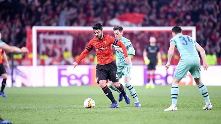 أرسنال يسقط أمام رين الفرنسي في الدوري الأوروبي