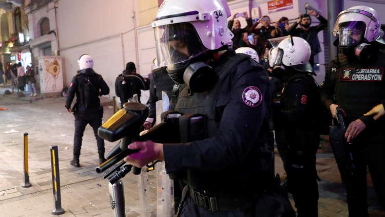 شرطة في اسطنبول