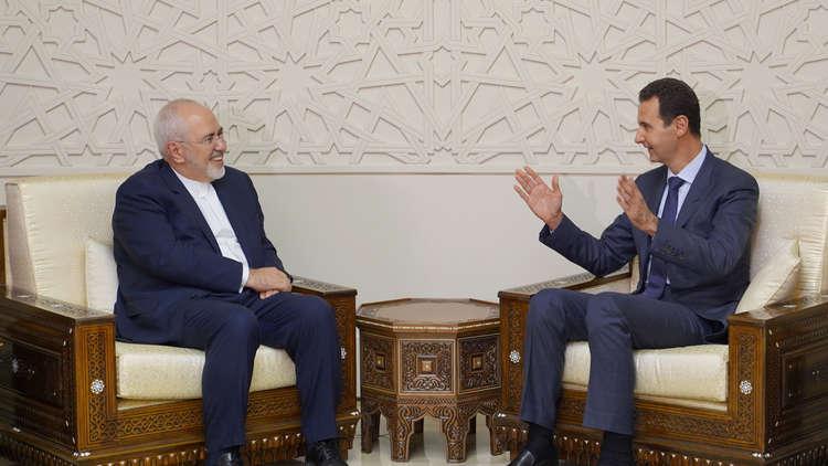 ظريف يوضح دور زيارة الأسد لإيران في قرار إعلان استقالته