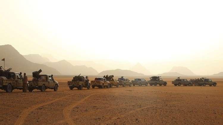 أرشيف -  قوات تابعة للجيش الوطني الليبي بقيادة خليفة حفتر