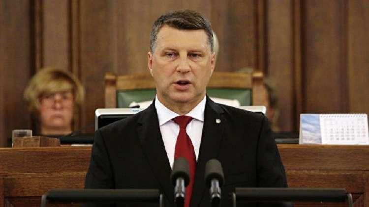 رئيس لاتفيا ريموند فيجونيس
