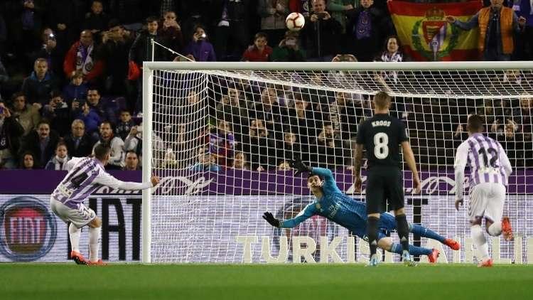 شاهد.. إلغاء هدفين لـ غوارديولا في مرمى ريال مدريد وركلة جزاء ضائعة!