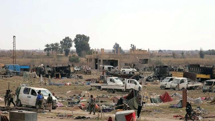 مقتل 50 مدنيا من الأطفال والنساء في غارة للتحالف الدولي على الباغوز بريف دير الزور