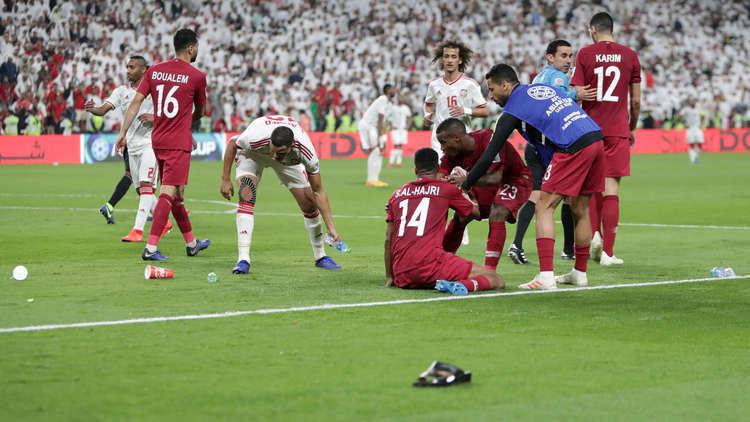 الاتحاد الآسيوي يعاقب الإمارات بسبب قطر