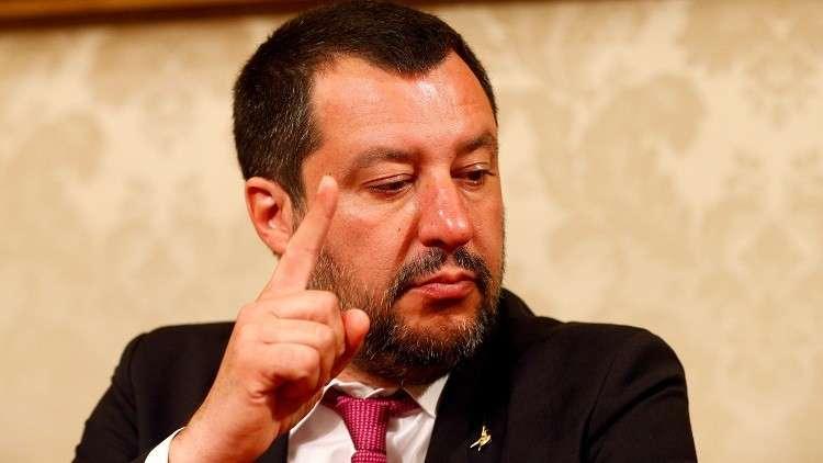نائب رئيس الوزراء الإيطالي، وزير الداخلية ماتيو سالفيني