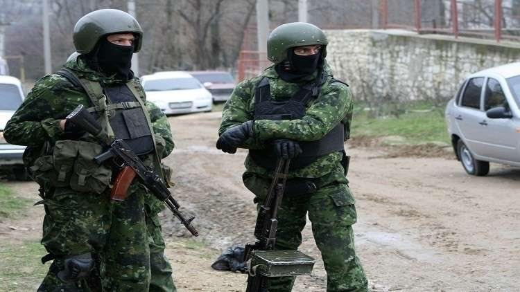 أفراد من الأمن الروسي في مهمة لمكافحة الإرهاب (صورة أرشيفية)