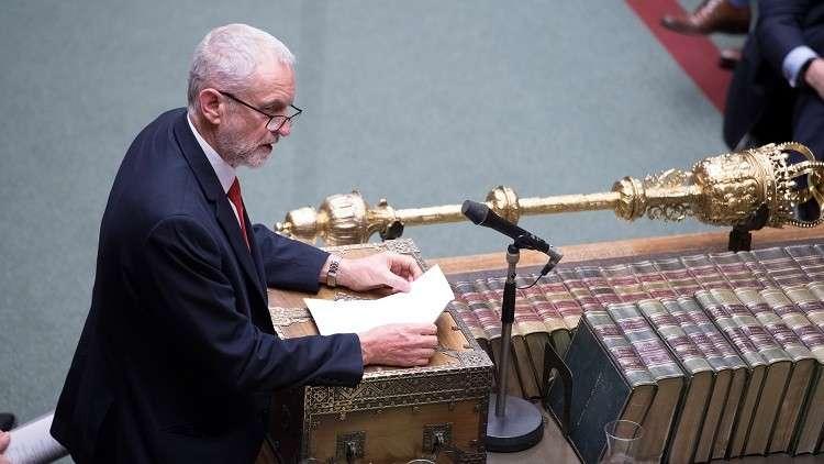 كوربين يؤيد إجراء استفتاء ثان حول