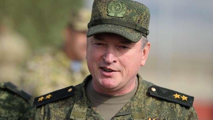 قائد المنطقة العسكرية الوسطى الروسية، الفريق أول ألكسندر لابين