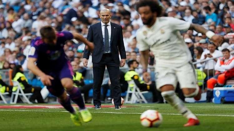 ريال مدريد يفوز على سيلتا فيغو في أول اختبار لزيدان بعد الولاية الثانية