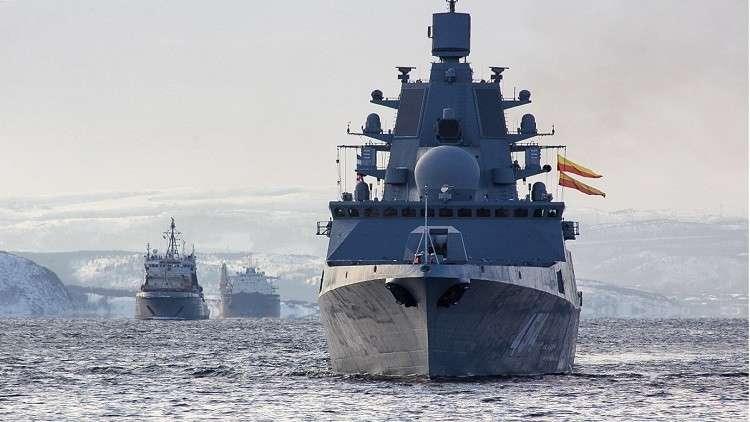 روسيا تبني فرقاطات جديدة لصواريخ