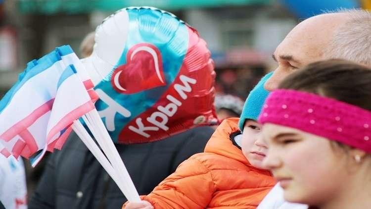 %88 من الروس يؤيدون عودة القرم