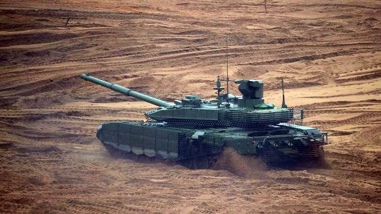 روسيا بصدد تصنيع دبابة روبوت
