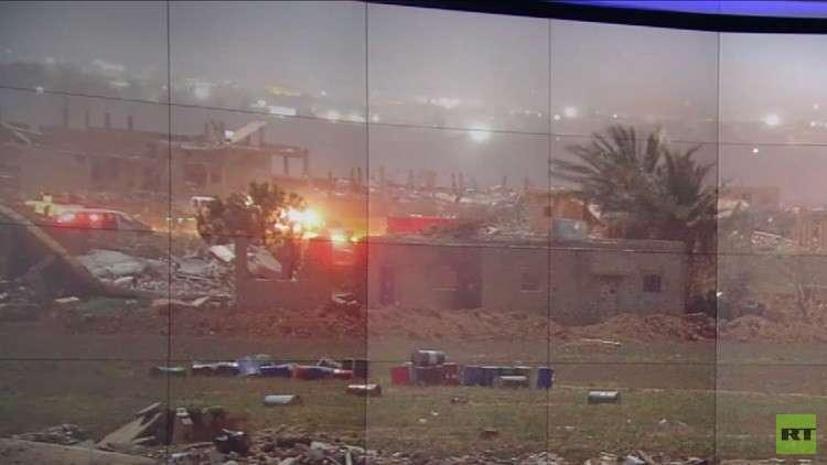 مقتل 10 مدنيين بقصف للتحالف على الباغوز