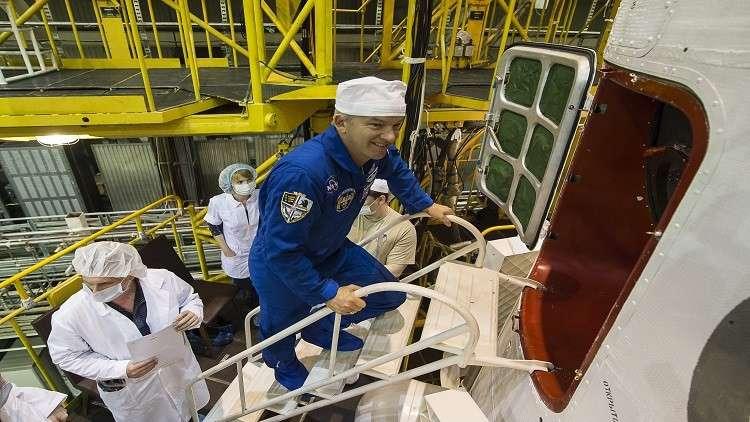 رواد ناسا يتدربون في روسيا قبل رحلتهم على متن