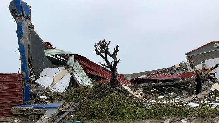 آثار الإعصار إداي في موزنبيق