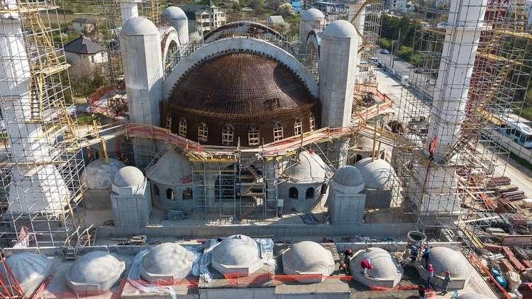 بوتين: دعوت أردوغان لحضور مراسم افتتاح مسجد القرم