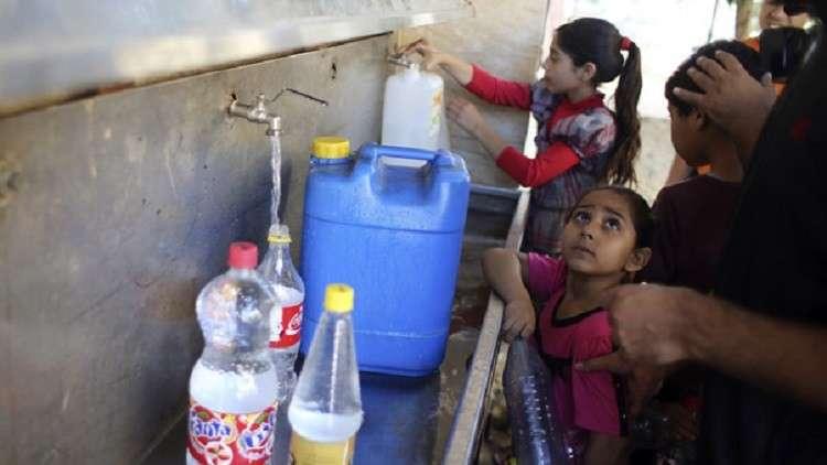 إسرائيل تمنع المياه النقية عن الفلسطينيين - أرشيف