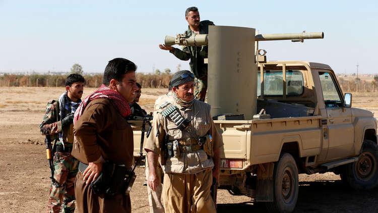 عناصر من البيشمركة الكردية - أرشيف