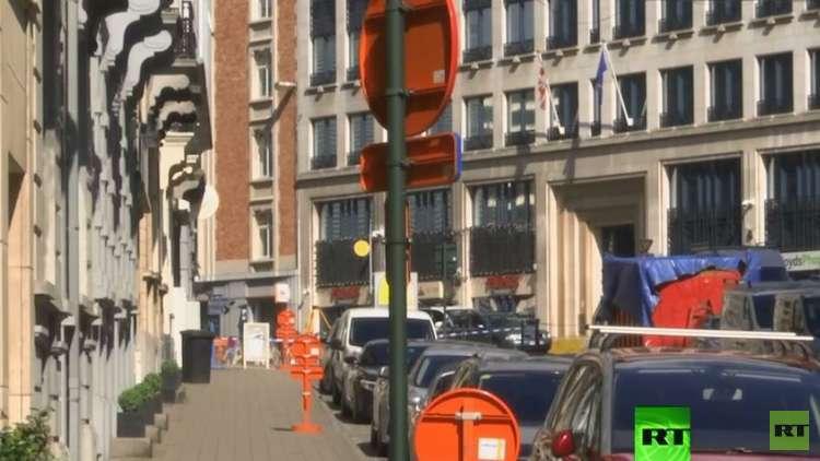 الشرطة البلجيكية تتلقى بلاغا بوجود قنبلة في أحد أحياء بروكسل