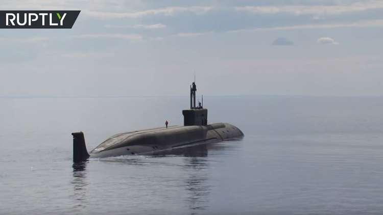 وزارة الدفاع الروسية تنشر فيديو لاختبار غواصة جديدة حاملة للصواريخ