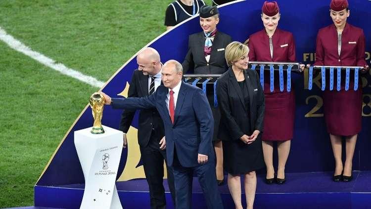 نظرة بوتين لكرة القدم ودوره في مونديال 2018