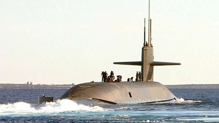 غواصة نووية أمريكية تنفذ دوريات شرقي المتوسط