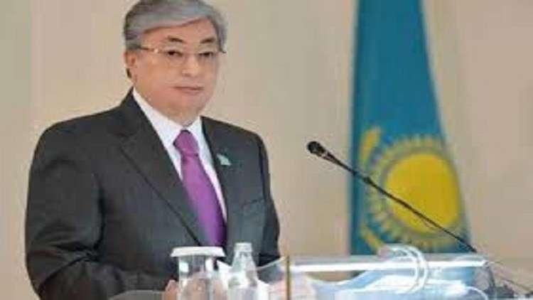 رئيس مجلس الشيوخ يؤدي اليمين الدستورية رئيسا لكازاخستان