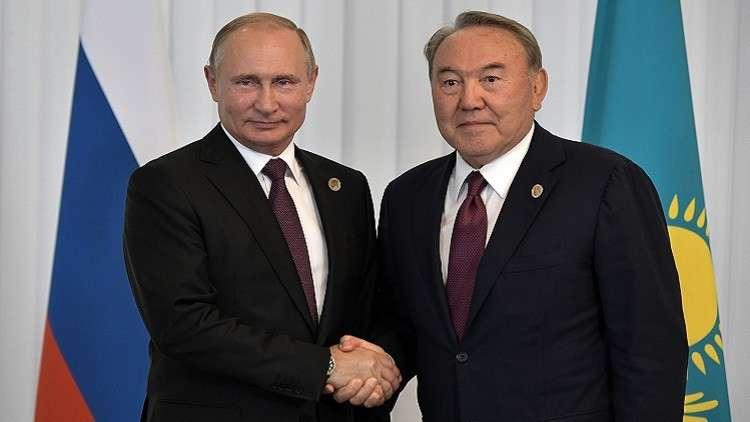 بوتين: نأمل في استمرارية نهج كازاخستان