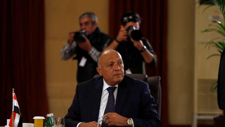 شكري: لا توجد شروط لدى مصر لعودة سوريا إلى الجامعة العربية